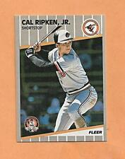 Cal Ripken Jr 1989 Fleer Tarjetas #617 2001 Career Higlights Limited 50,000