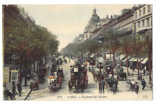PARIS Boulevard des Italiens #372, Postcard by LL / Levy, Unused