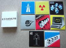 KRAFTWERK The Catalogue 12345678 2004 UK promo-only 8-CD box set