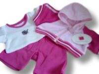 Teddy Bear Clothes fit Build a Bear Teddies Pink Sports Outfit Bears Clothing
