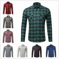 Men Luxury Long Sleeve Tops Dress Shirts Fashion Slim Fit Stylish T-Shirt Casual