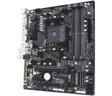 Gigabyte GA-AX370M-DS3H AMD Socket X370 AM4 MicroATX M.2 Desktop Motherboard A