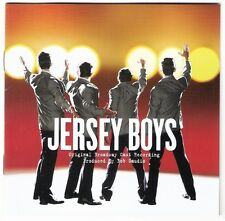 JERSEY BOYS Original Broadway Cast Recording CD 2005 22trx frankie valli seasons