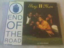 BOYZ II MEN - END OF THE ROAD - 4 TRACK CD SINGLE