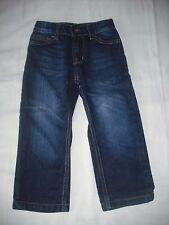 Matalan boys blue wash denim straight leg jeans 3 years adjustable waist