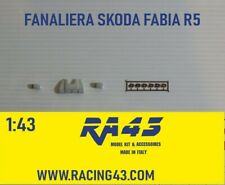 1/43 Fanaliera Skoda Fabia R5 Rally additional headlights