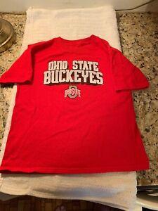 Ohio State University Buckeyes BIG TEN NCAA Youth T-Shirt Size 7 New Brutus