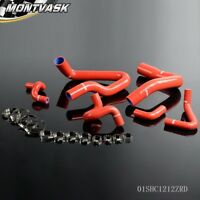Silicone Radiator Hose Kit For 1986-1993 Mustang GT LX Cobra 5.0 Red