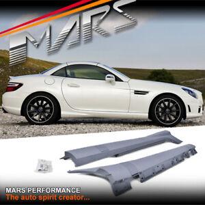 AMG SLK55 Style Side Skirts BodyKit for Mercedes-Benz SLK-Class R172 Convertible