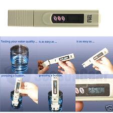 Digital TDS Medidor Probador de calidad de agua prueba PPM filtro Pen palo