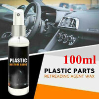 100ML Car&Home Plastic Part Retreading Restore Agent Wax Instrument bara1