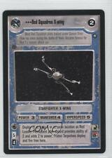 1998 Star Wars Customizable Card Game: #NoN Red Squadron X-Wing Gaming 0b5