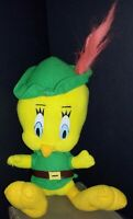 Tweety plush bird Robin Hood 1997 Looney Tunes Warner Bros