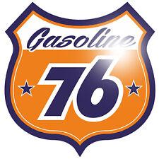 76 Gasoline 30cm Aufkleber Sticker Racing Tuning US Car Rockabilly Oldschool