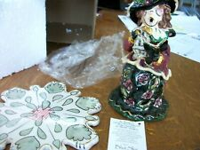Blue Sky Clayworks Caroler Victorian Lady/Female New In Box 2001 Male Available
