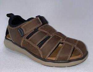 Florsheim VENTURE FISHERMAN Mens Brown Leather 14320-215 Closed Toe Sandals