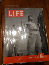 Jan 11, 1937 LIFE MAG ~ Japanese Soldiers. World War II, ARCHIVAL BAG INCLUDED!