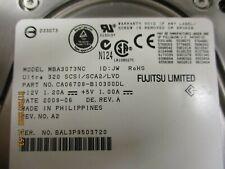 Fujitsu -MBA3073NC - Fujitsu Enterprise MBA3073NC 7.35GB Ultra 320 SCSI HDD
