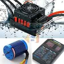 Hobbywing Waterproof Combo Quicrun 10BL60 60A ESC Ezrun 9T 3650S Motor RC Car
