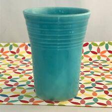 Vintage Fiestaware Turquoise Water Tumbler Fiesta Blue Cup