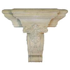 """Huge Corbel Bracket in Faux Marble Pumice Stone Pillar 28.5"""" Wide 18 lbs"""