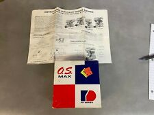 OS MAX 15 FP SERIES MODEL AIRPLANE ENGINE