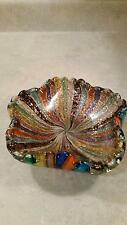 Vintage Murano Tutti Frutti Bowl (Very Rare Colors!)