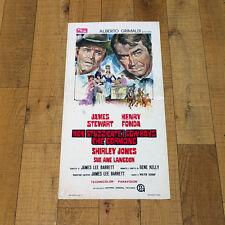 NON STUZZICATE I COWBOYS CHE DORMONO locandina poster James Stewart Fonda AP16