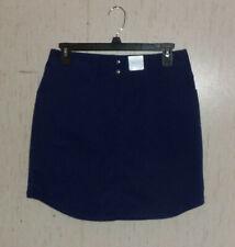 NWT WOMENS $70 adidas DEEP BLUE SKORT  SIZE 2