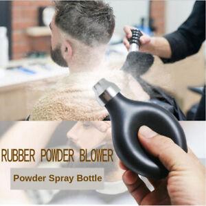 Powder Spray Bottle, Refillable Soft Rubber Empty Powder Blower Applicator for