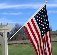 Free Spin Flagpole Set with 3' x 5' American Flag