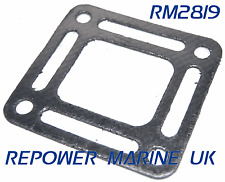 "Riser Gasket for Mercruiser V6, V8 4.3, 5.0,5.7  ""OPEN"" Repl: 27-863726"