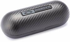 New Authentic OAKLEY Large Carbon Case Sunglasses Hard ClamShell Storage Black