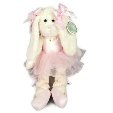 Bearington Collection Lil Bunny Tutu 420153 Ballerina Rabbit White Pink Bow