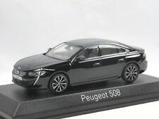 Norev 475823 - 2018 Peugeot 508 - black - schwarz - Modellauto 1/43