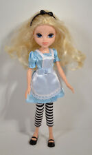 "2009 Fairy Tale Alice In Wonderland 10"" Avery Moxie Girlz Girls Figure Doll MGA"