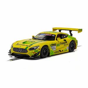 Scalextric Slot Car C4075 Mercedes AMG GT3 Bathurst 12 Hrs 2019 Gruppe M Racing