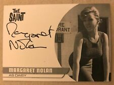 THE SAINT SERIES ONE: PROOF AUTOGRAPH CARD: MARGARET NOLAN AS DAISY MN1