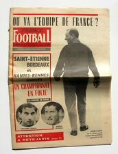 France Football n°1068-1966-LASSALETTE-REVELLI-GUERIN-RACING CLUB PARIS-RILDO