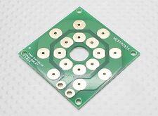 Stromverteiler Löt-Platine bis zu 8 Anschlüsse / Spannungsbord für Multicopter