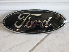"2011-2016 Ford F250 F350 F450 Super Duty Grille 13"" PAINTED GLOSS BLACK  Emblem"