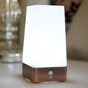 GloBrite Wireless PIR Motion Sensor Table Lamp Super Bright LED Battery Powered