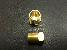 "1/8"" Male Plug Hollow Hex BSPT Brass Good Quality #EN64-02"