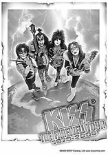 KISS - FAREWELL TOUR - FABRIC POSTER - 30x40 WALL HANGING - HFL0289