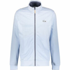 Genuine LACOSTE Men's Light Blue Zip-Up Sweatshirt Jacket, Size 5 / Large