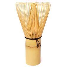 BAMBOO WHISK 100 prongs HANDMADE tool for matcha GREEN TEA utensil CHASEN