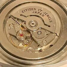 Citizen Automatic reloj-acero inoxidable-atornillado con acero inoxidable suelo-defectuoso-interesante