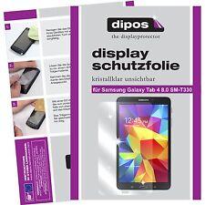 2x dipos Samsung Galaxy Tab 4 8.0 T330 Protector de Pantalla transparente