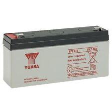 Burglar Alarm Battery 6v 2.8Ah YUASA, Same As YUCEL Y3.2-6, 6v 3.2Ah