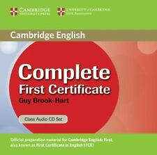 Complete First Certificate Class Audio CDs, Brook-Hart, Guy, Very Good condition